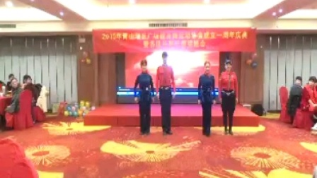 南昌清风水兵舞蹈队2020.01.04表演形体水兵舞《我爱你中国》