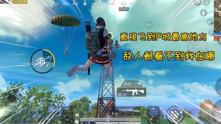 蓝一:这个技能就是酷,可以飞到了P城最高的地方,敌人都看不见