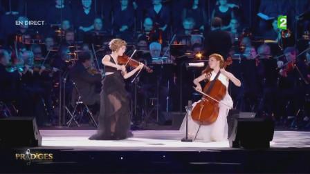 小提琴大提琴二重奏勃拉姆斯《匈牙利舞曲No.5》