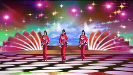 三友矿山广场舞【正月初一是新年】一只欢快简单新年舞蹈附分解