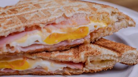 10分钟搞定高颜值早餐三明治,做法简单营养均衡