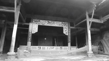 崇仁相山浯漳村一条老街串起十座明清古祠