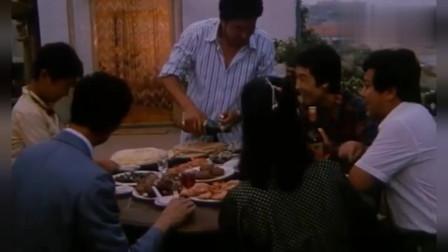 电影再现80年代吃海鲜宴片段,看着都让观众流口水!