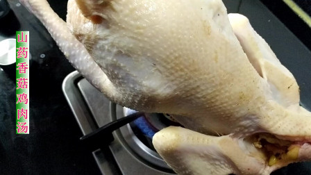 山药炖鸡肉的家常做法,鸡汤味道鲜香浓郁,营养好吃又暖和
