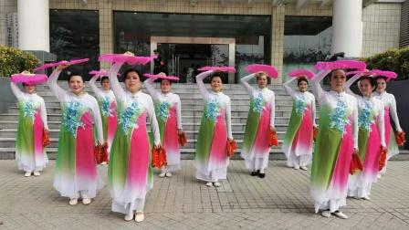 永和街老年大学舞蹈班原创民间舞《喜庆的日子》编导李萍 摄制叶煌