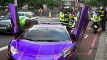 警察执行任务封堵道路,豪车司机竟想强行过卡,没想一个动作懵了!