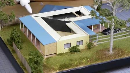 外国人真会玩!用3D打印机制作房子模型,整个过程太精彩了!