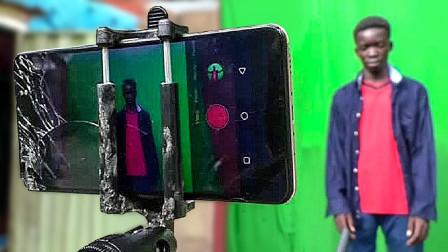 """花小钱办大事的""""大神""""Top5,尼日利亚少年用手机制作科幻电影!"""