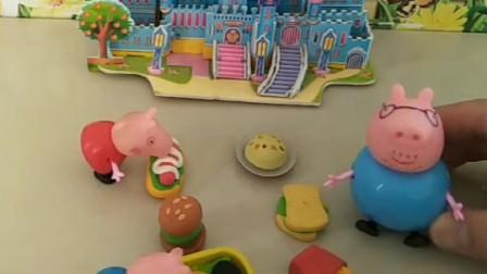猪爸爸不让佩奇乔治和成绩差的孩子玩,大头考了倒数第一,是被佩奇乔治带坏的