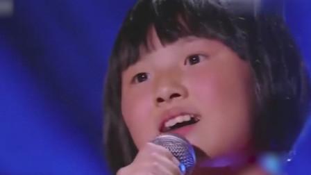 质朴农村女孩韩甜甜,挑战《左手指月》歌声缥缈空灵,萨顶顶算什么