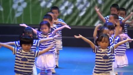 欢庆六一,幼儿园汇演舞蹈《我上幼儿园》