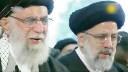 伊朗最高领导人含泪送别苏莱曼尼
