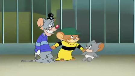 猫和老鼠:杰瑞被绑大转盘,经过爱的魔力转圈圈后,成功软成一滩泥!