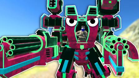 战地模拟器!机器人特种部队攻占敌人防御基地!面面解说
