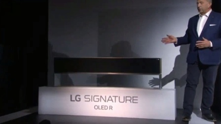 LG这款可卷曲的OLED电视,在CES2020大放异彩