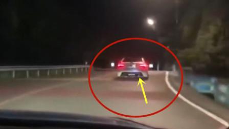深夜组队飙车,要不是视频拍下,这一切谁会相信!