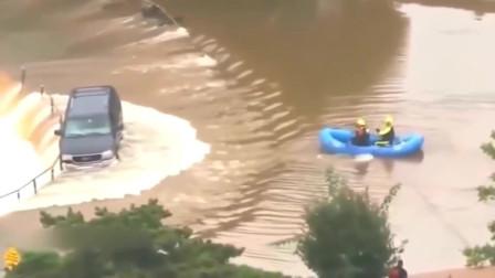 灵异事件:女司机开车掉河里,不是监控谁信!