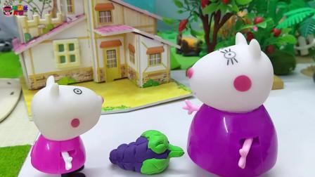 《小猪佩奇》小故事,苏西不想分享呢,噢,苏西真小气!