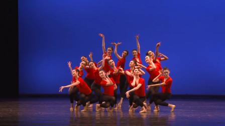 北京舞蹈学院中国古典舞系,2016级毕业供需双选会,女生基训展示