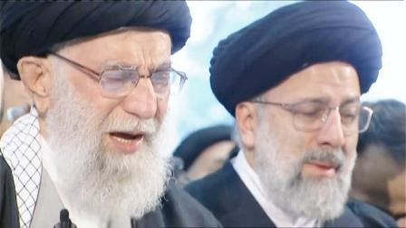 伊朗领袖在棺木旁落泪,苏莱曼尼女儿向美国喊话:为你们孩子收尸