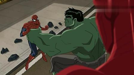 蜘蛛侠联手复仇者VS毒液军团,拯救绿巨人和雷神