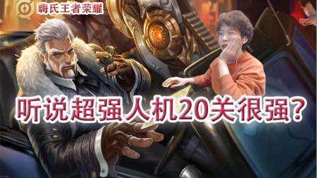 嗨氏王者荣耀:听说超强人机20关很强?