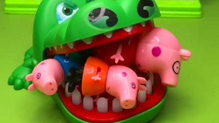 小猪一家遇到了困难,大鳄鱼想要1000个小红心,就放了他们