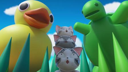 《甜甜私房猫》想吃掉猫咪的乌龟!