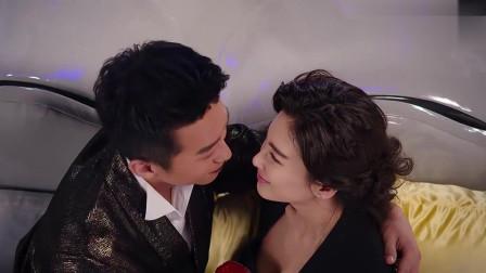 超哥正和张雨绮激烈对戏,不料中途杀出个丑女,两人看呆了