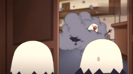 那年那兔那些事:两拨老鹰吵得不可开交,最后扭打在一起