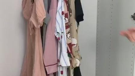 衣服越来越多,衣柜搭不下,找衣服还难找,试试这款收纳衣架,让衣柜瞬间一目了然