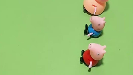 小猪佩奇一家发东西了,都是小动物红包,真是太可爱了
