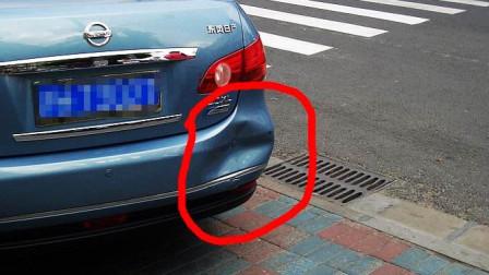 年轻妹子走路只顾耍手机,结果被车撞翻碾压,网友:自作虐而已!