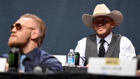 【UFC246往昔回顾】当年的发布会上,牛仔与嘴炮现场互喷