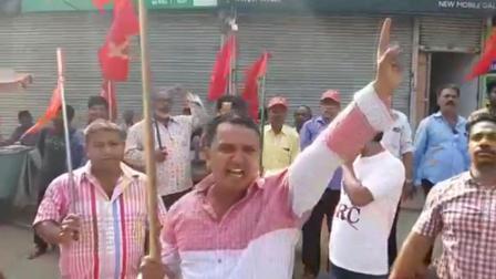 印度全国爆发工人罢工,抗议莫迪政府私有化政策