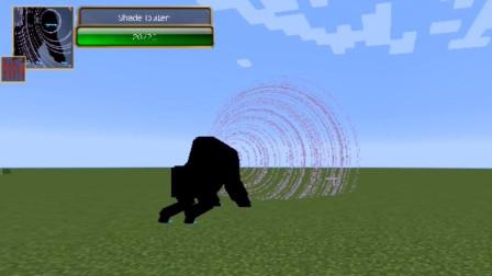 我的世界:超级boss模组里的这个大马猴,致盲技能还是有点牌面的