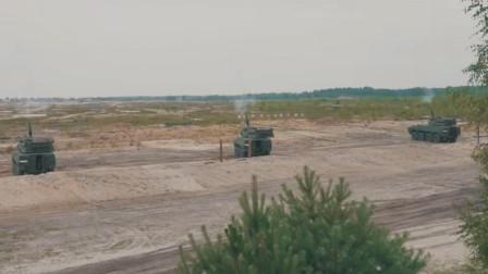 狼獾轮式步兵战车新变型波兰Rak 120毫米自行迫击炮