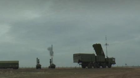 俄罗斯S400防空导弹垂直发射,空中机动转弯