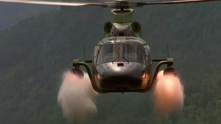 武装直升机火力全开够猛够彪悍 杀人如割草 一般防御根本抵挡不了!