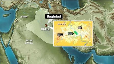 """又有火箭弹落入巴格达""""绿区"""" 距美使馆仅100米"""