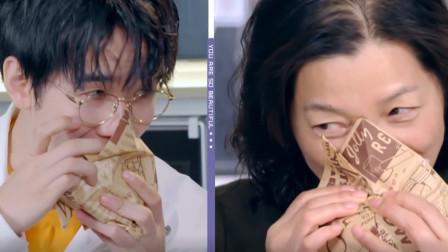 范湉湉做的健康全麦汉堡,母子俩一口下去太爽了,味蕾在炸裂!