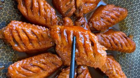 厨师长分享饭店可乐鸡翅的做法,鲜嫩营养,做法简单,孩子最喜欢
