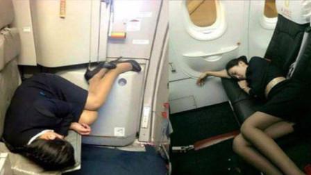 飞机一次飞十几个小时,空姐是如何睡觉呢?原来她们有个秘密暗室!