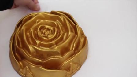 金玫瑰巧克力蛋糕,蛋糕是手艺真不是吹的!