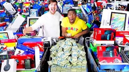 国外的土豪们,进行了一场,24小时花完100万美元的游戏!