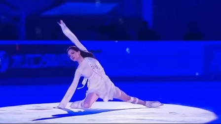 俄罗斯花滑女王,不仅滑冰厉害,颜值也是超高