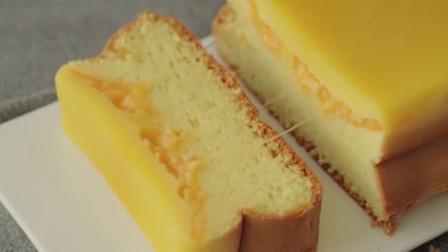 切达奶酪长崎蛋糕的制作过程,想吃!