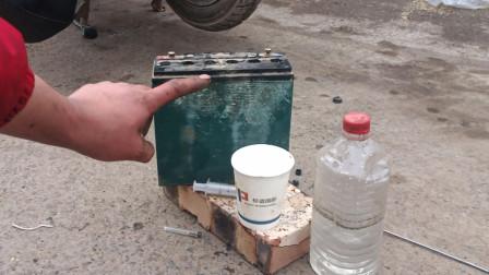 电动车跑不远了怎么办?不要着急更换电瓶,只需花3元钱直接修好如新