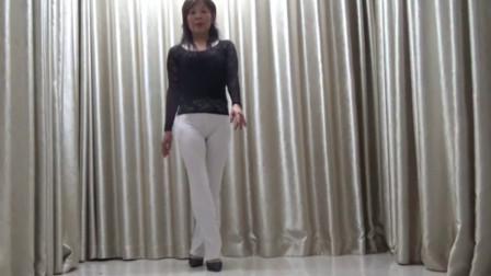 洋雪梅广场舞《快开门幸福来敲门啦》
