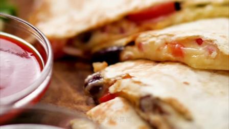 五分钟小技能 创意DIY墨西哥薄饼,不用进厨房,就能做出美味馅饼!